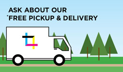 Ask about our free pickup and delivery